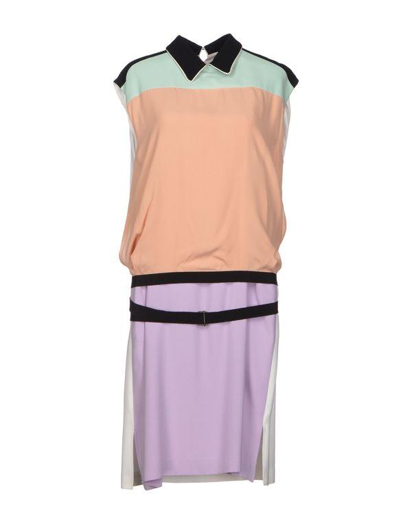 浅粉色 ANTONIO MARRAS 及膝连衣裙