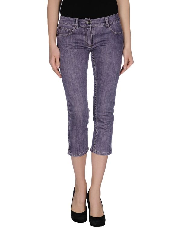 紫色 PLEIN SUD JEANIUS 牛仔裤