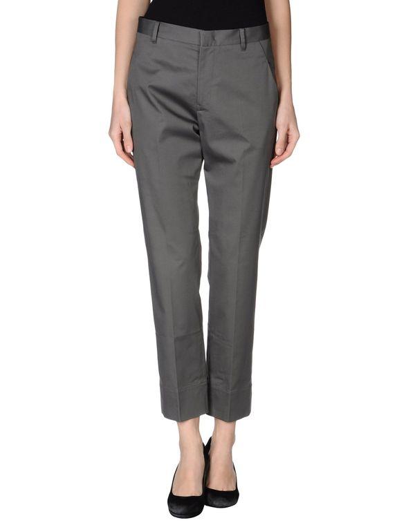 灰色 JIL SANDER 裤装