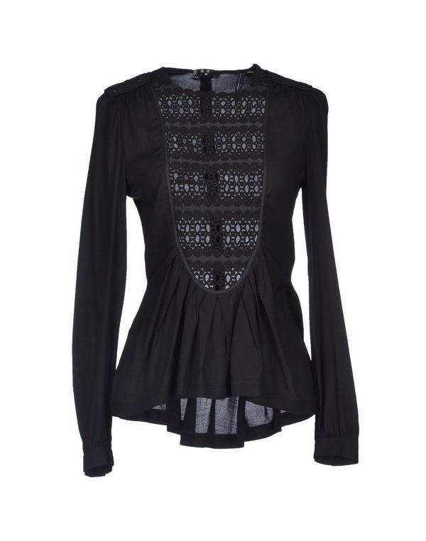 黑色 HIGH 女士衬衫