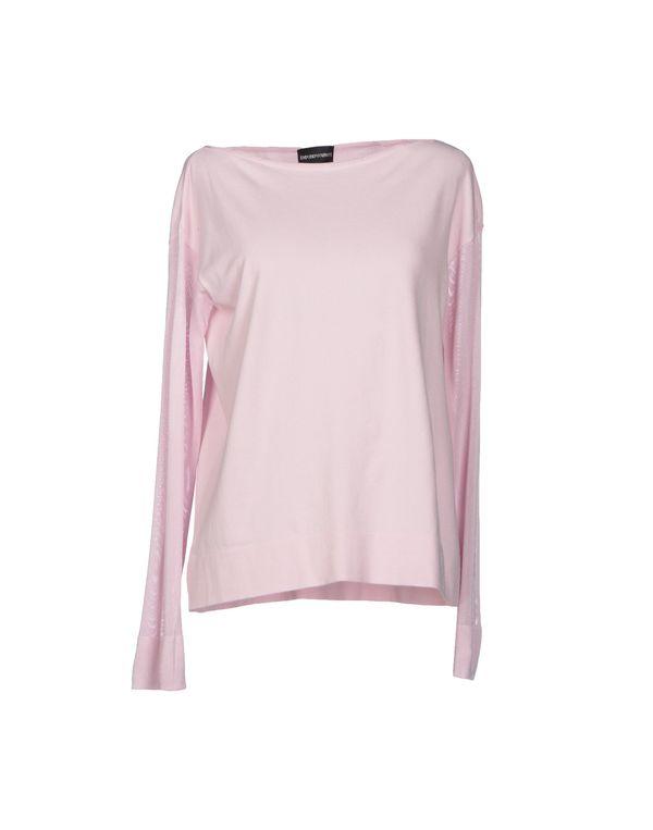 粉红色 EMPORIO ARMANI 套衫