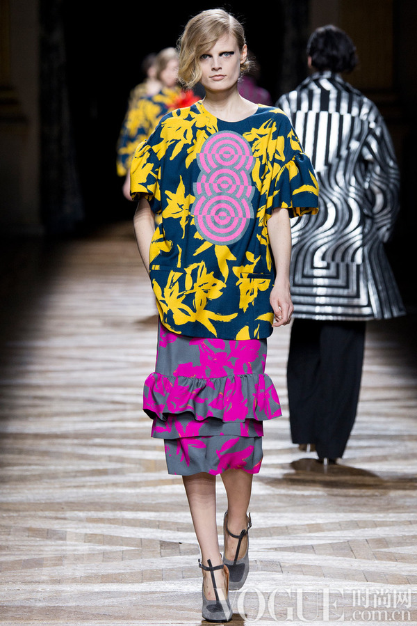 Dries Van Noten2014秋冬时装秀