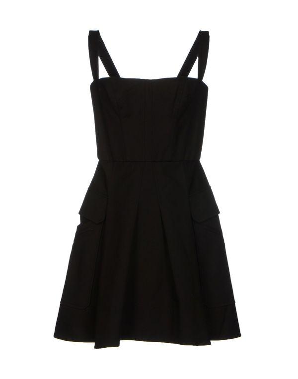黑色 VERSACE 短款连衣裙