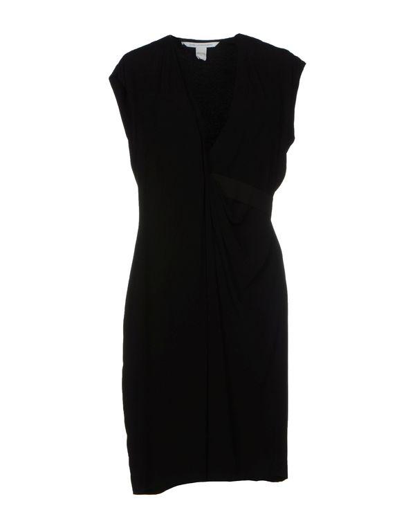 黑色 DIANE VON FURSTENBERG 短款连衣裙