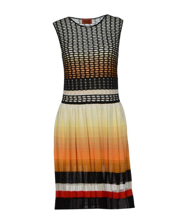 橙色 MISSONI 短款连衣裙