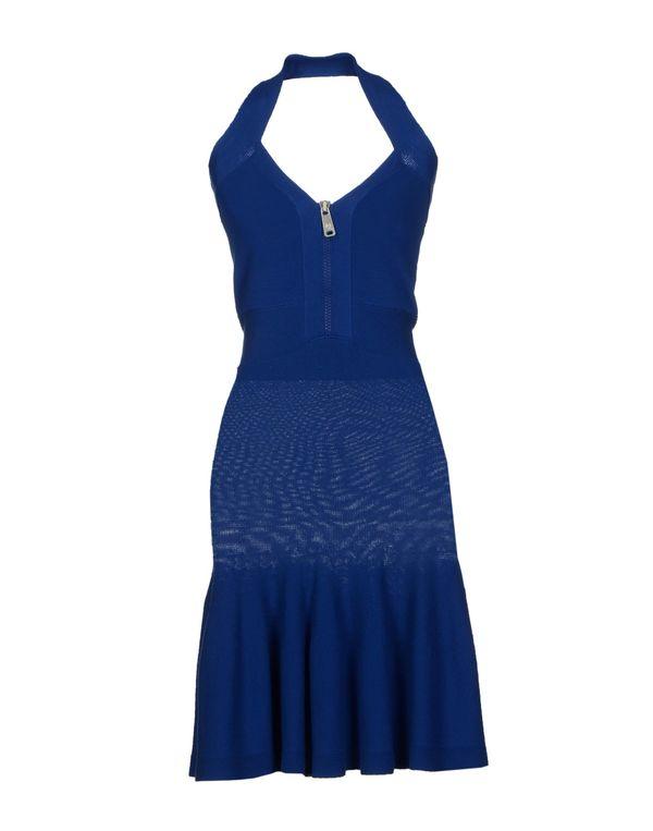 蓝色 MCQ ALEXANDER MCQUEEN 及膝连衣裙