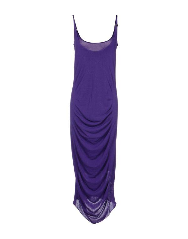 紫色 BLUMARINE 长款连衣裙