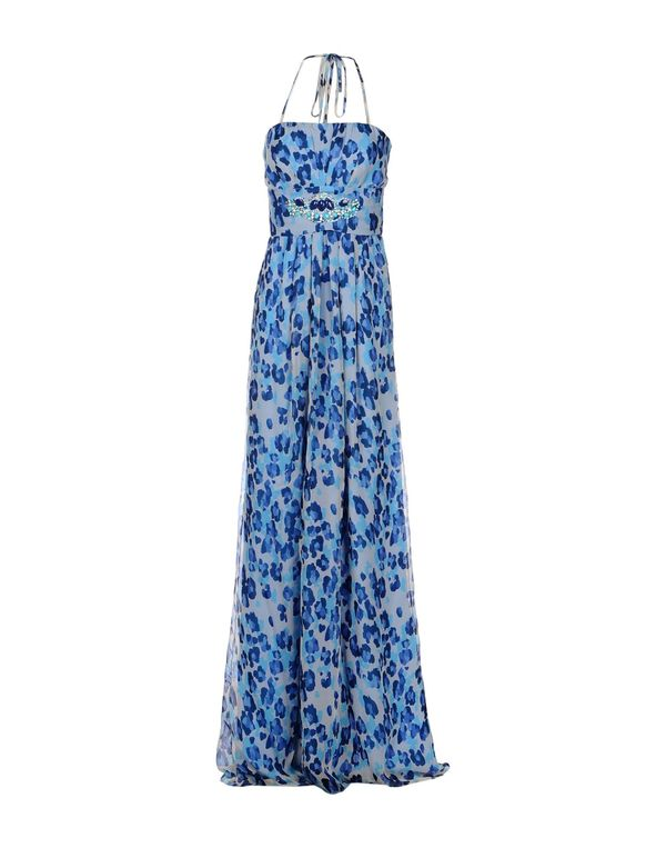 蓝色 BLUGIRL BLUMARINE 长款连衣裙