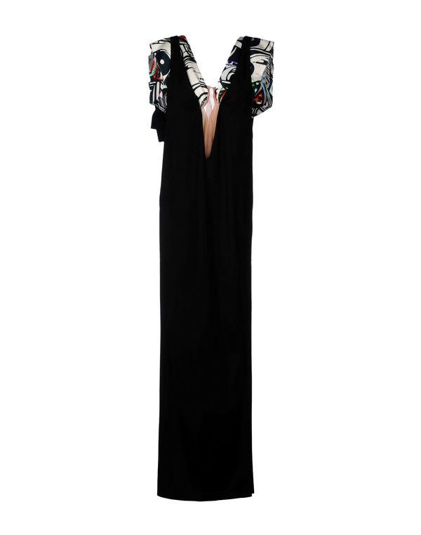 黑色 JUST CAVALLI 长款连衣裙