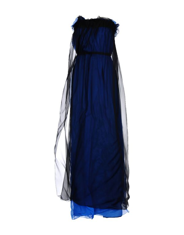 蓝色 MAISON MARTIN MARGIELA 长款连衣裙