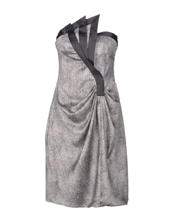 灰色 GIORGIO ARMANI 短款连衣裙