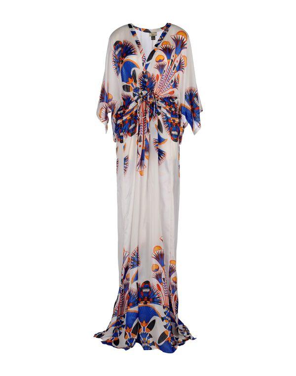 白色 ISSA 长款连衣裙