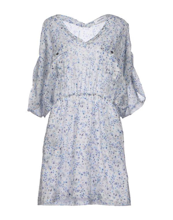 白色 MAURO GRIFONI 短款连衣裙