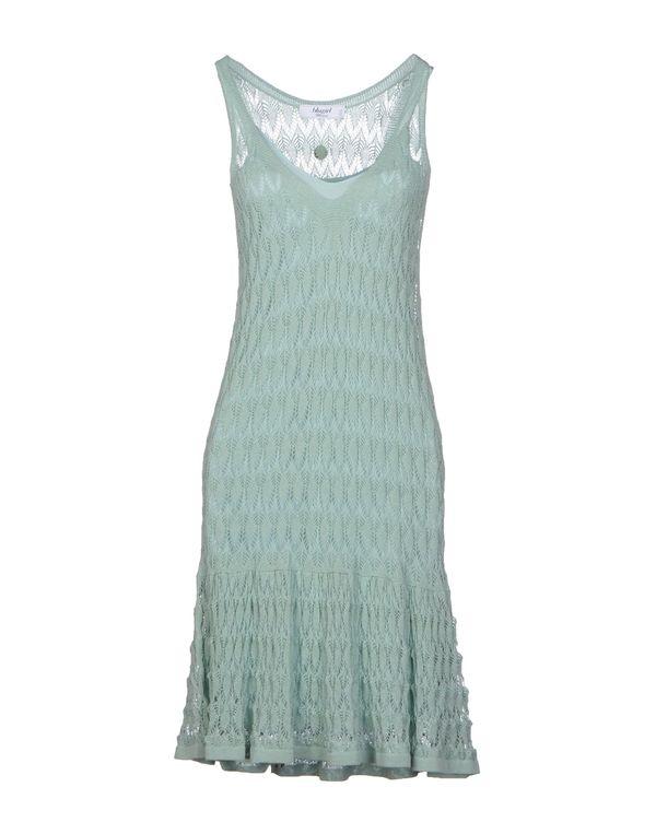 浅绿色 BLUGIRL BLUMARINE 及膝连衣裙