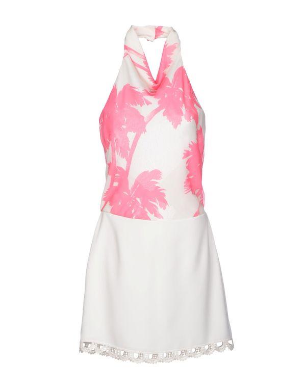 白色 MOSCHINO CHEAPANDCHIC 短款连衣裙