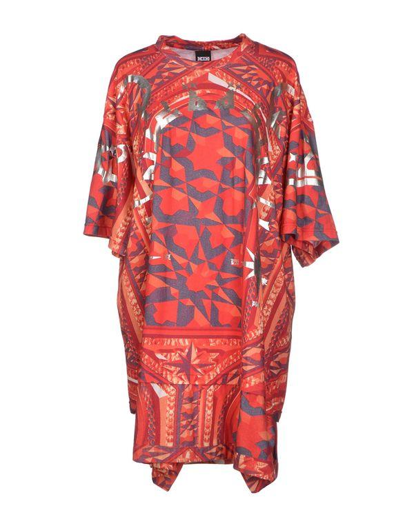 红色 KTZ 短款连衣裙