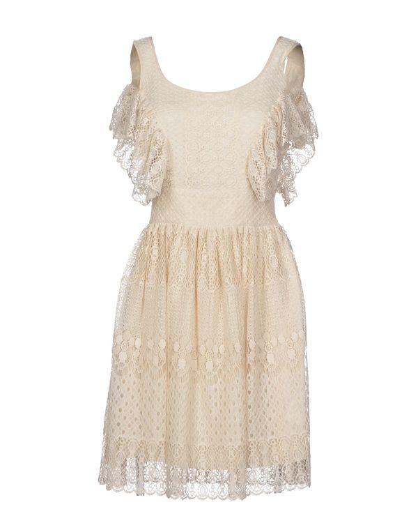 象牙白 BLUGIRL BLUMARINE 短款连衣裙