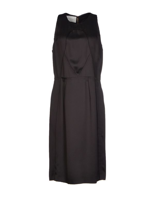 黑色 CEDRIC CHARLIER 及膝连衣裙