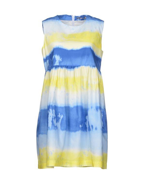 蓝色 MSGM 短款连衣裙
