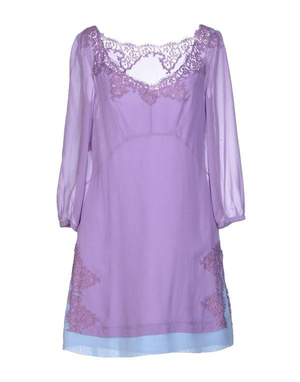 丁香紫 PHILOSOPHY DI A. F. 短款连衣裙