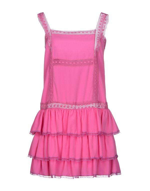 浅紫色 BLUGIRL BLUMARINE 短款连衣裙