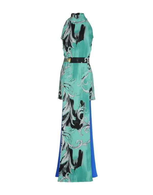 浅绿色 VERSACE COLLECTION 短款连衣裙