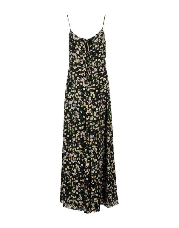 黑色 MOSCHINO CHEAPANDCHIC 长款连衣裙