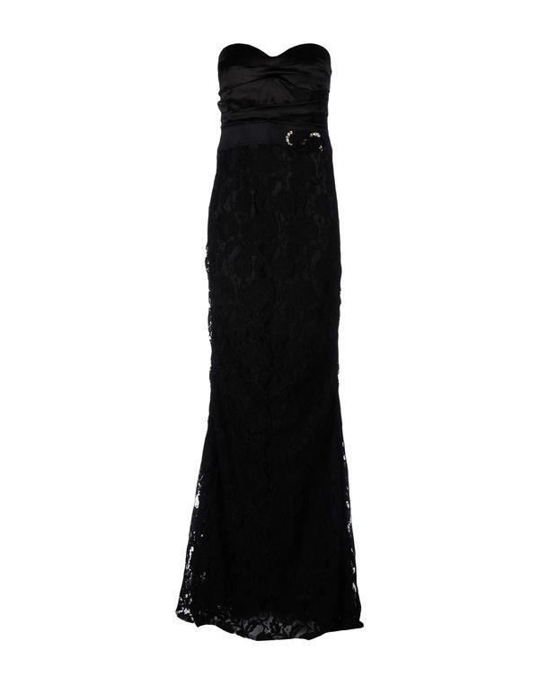 黑色 ELISABETTA FRANCHI 长款连衣裙