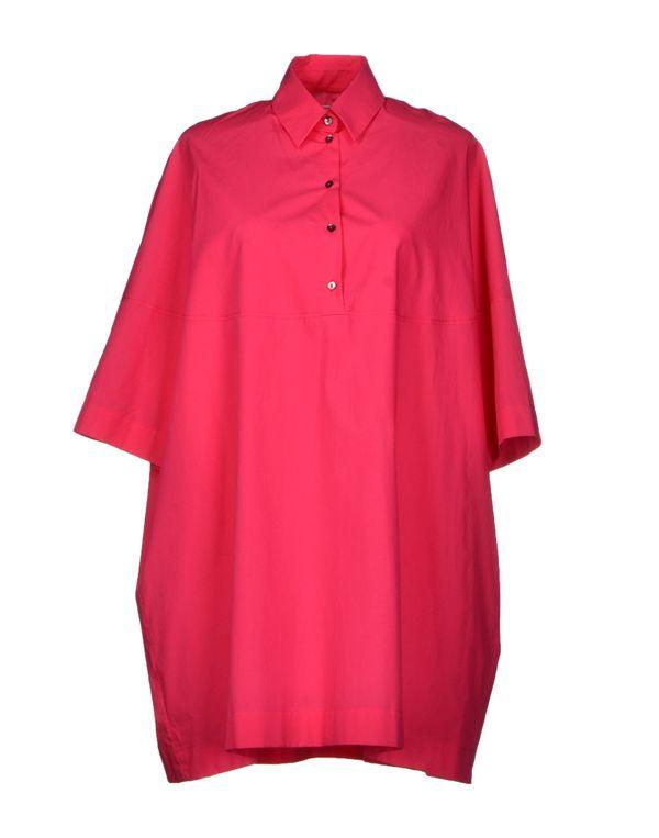 玫红色 ANTONIO MARRAS 短款连衣裙