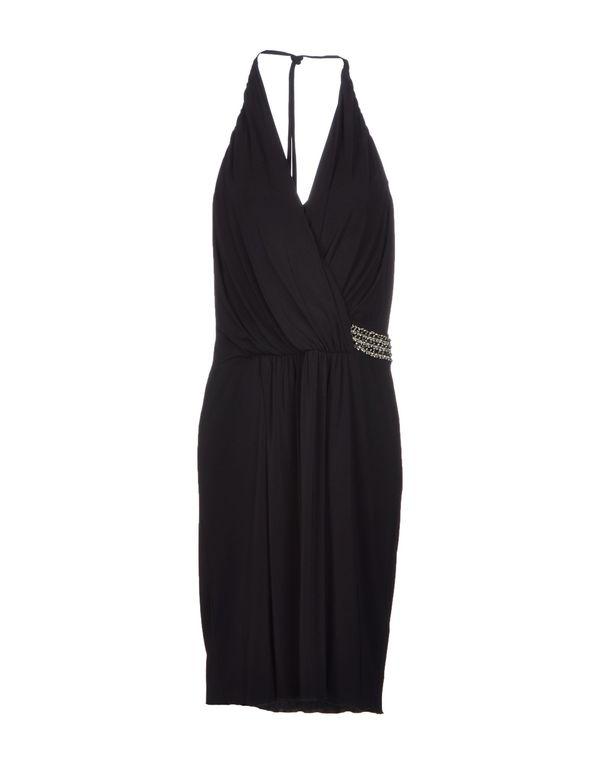 黑色 BLUGIRL BLUMARINE 及膝连衣裙