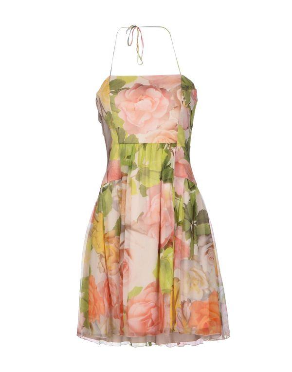 浅绿色 BLUGIRL BLUMARINE 短款连衣裙