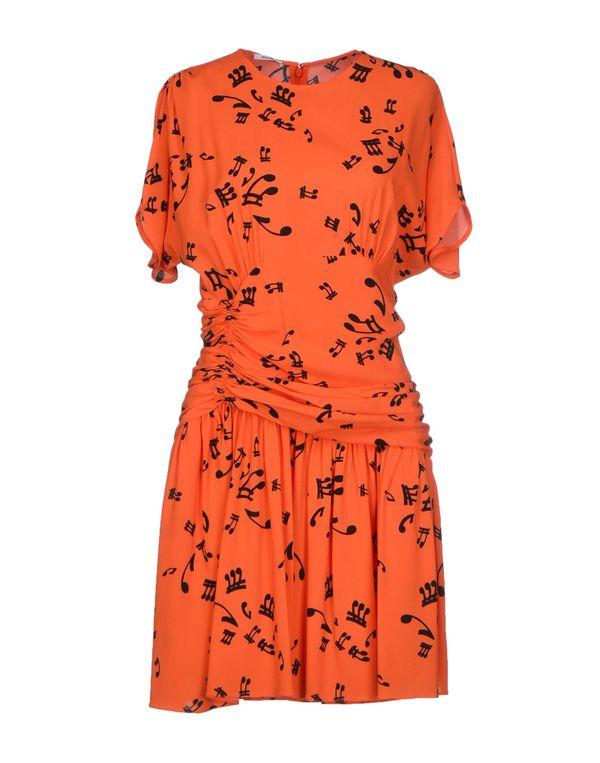 橙色 MIU MIU 短款连衣裙
