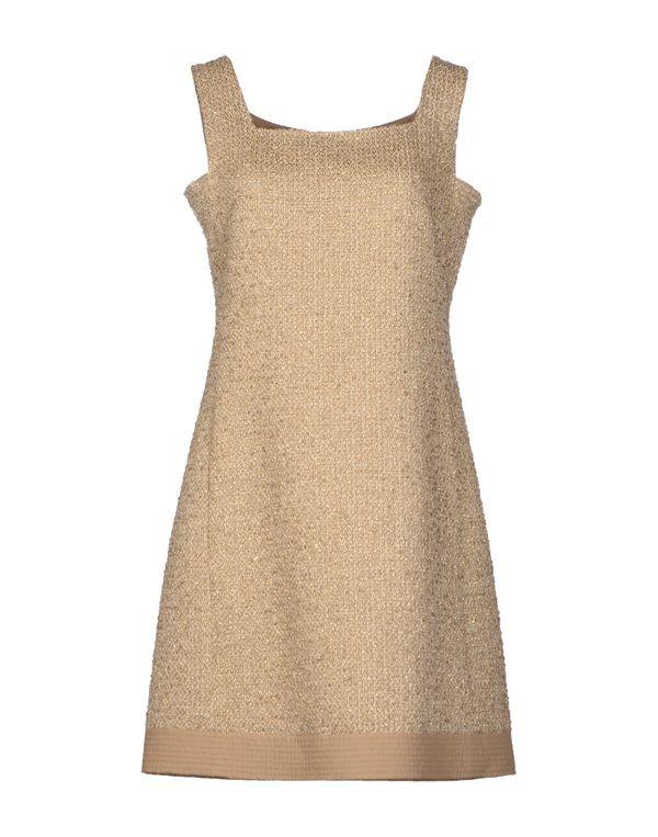 沙色 MOSCHINO 短款连衣裙