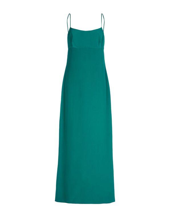 绿色 DOLCE & GABBANA 长款连衣裙