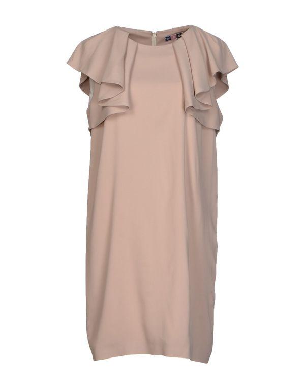 鸽灰色 MSGM 及膝连衣裙