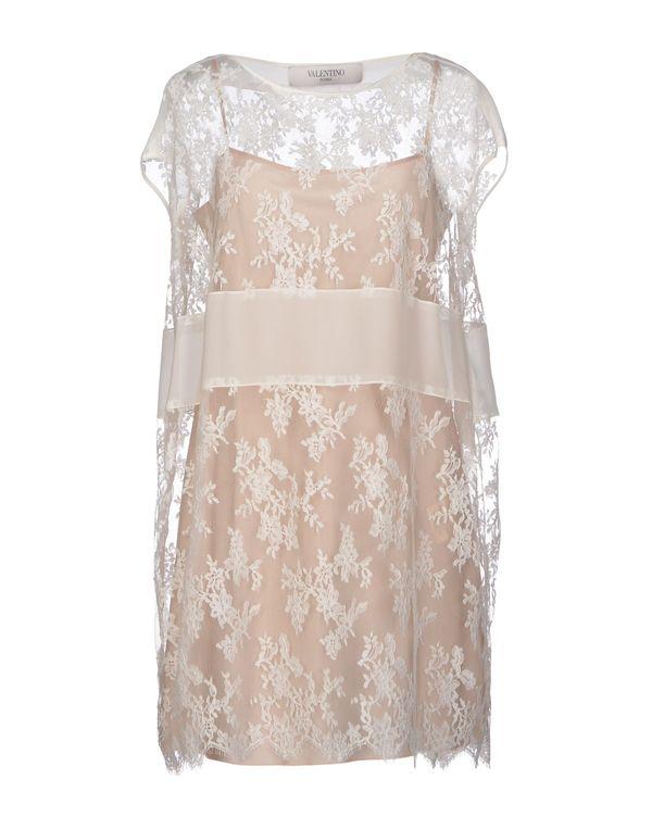 白色 VALENTINO ROMA 短款连衣裙