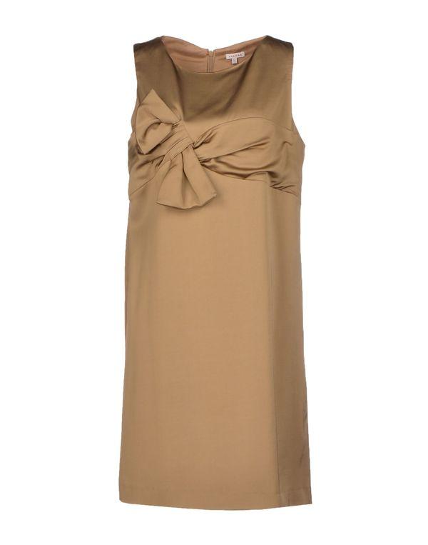 沙色 P.A.R.O.S.H. 短款连衣裙