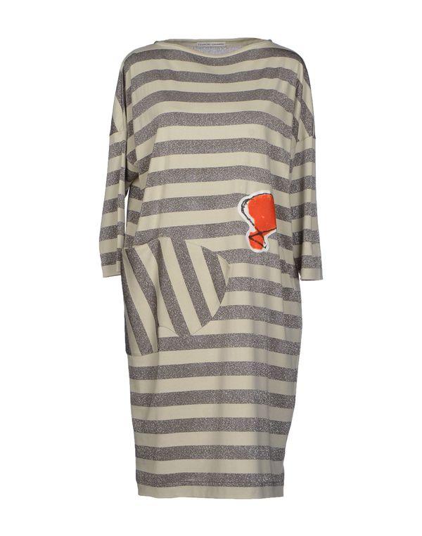 灰色 TSUMORI CHISATO 短款连衣裙