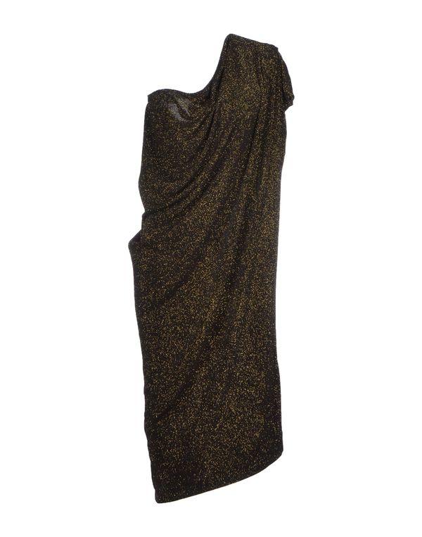 黑色 VIVIENNE WESTWOOD ANGLOMANIA 及膝连衣裙