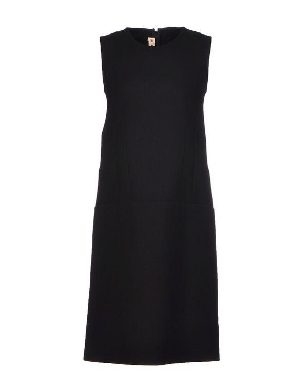 黑色 MARNI 短款连衣裙