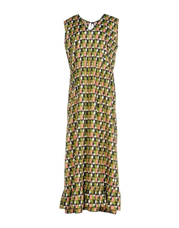 绿色 MARNI 长款连衣裙