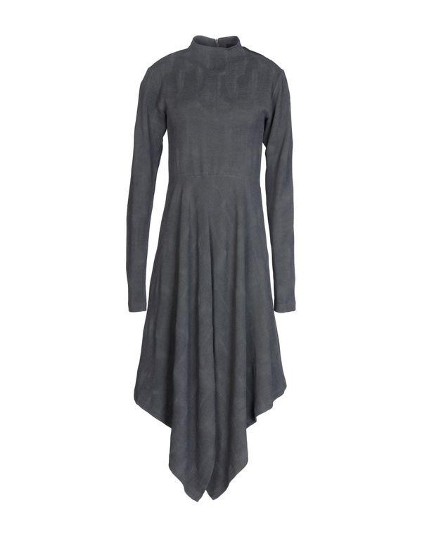铅灰色 DAMIR DOMA 及膝连衣裙