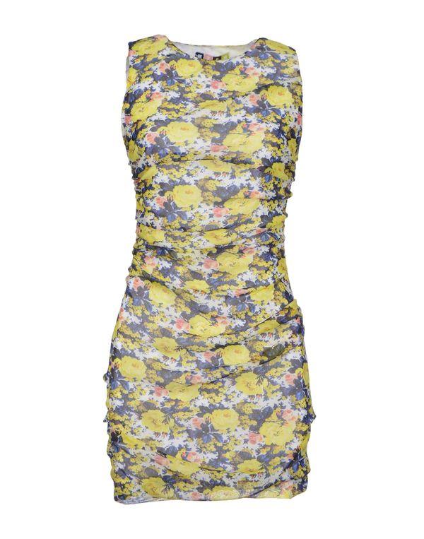 黄色 MSGM 短款连衣裙