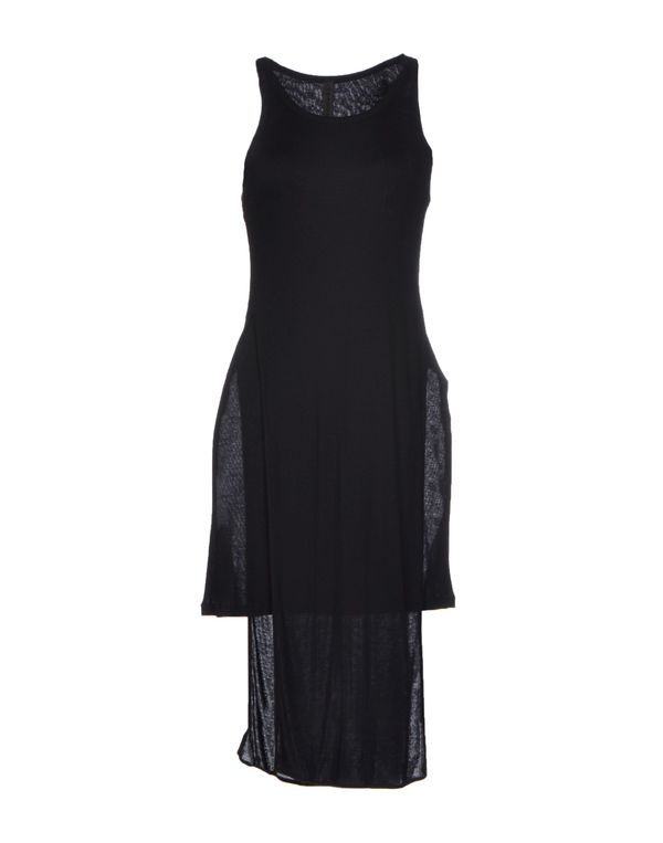 黑色 GARETH PUGH 及膝连衣裙