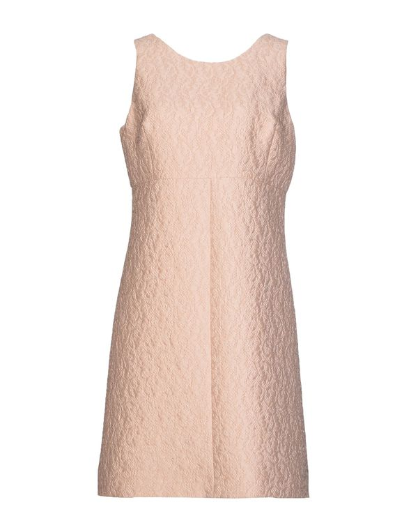 浅粉色 DOLCE & GABBANA 及膝连衣裙