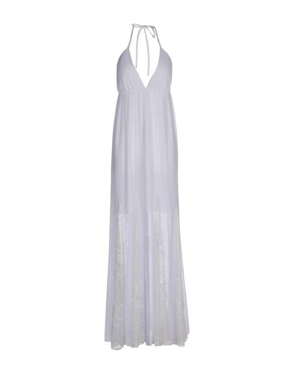 白色 ALICE+OLIVIA 长款连衣裙