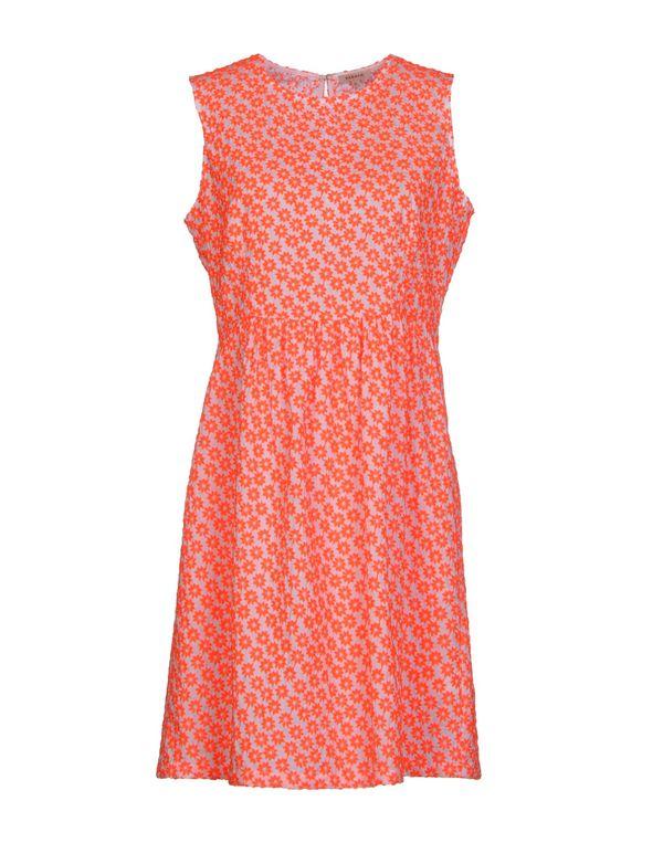 橙色 P.A.R.O.S.H. 短款连衣裙