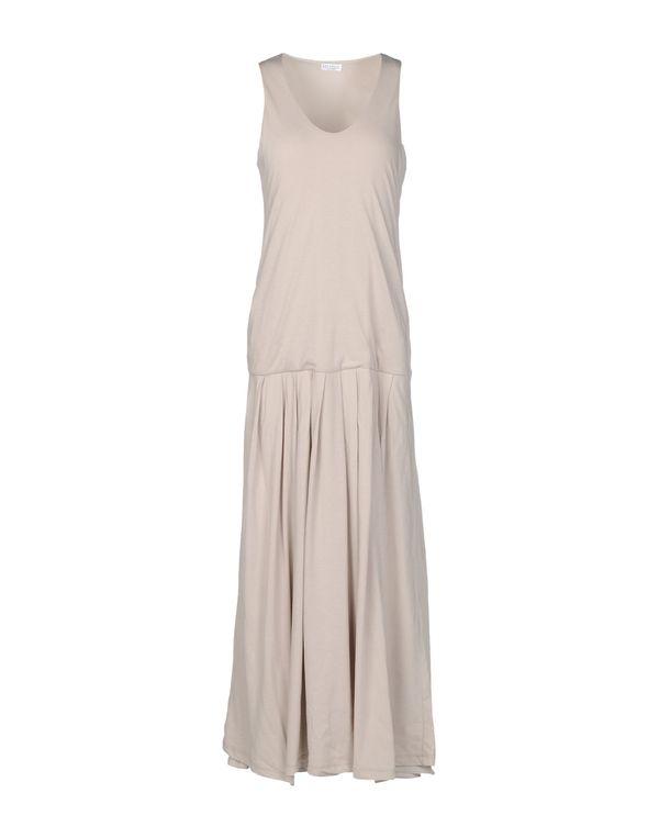 淡灰色 BRUNELLO CUCINELLI 长款连衣裙