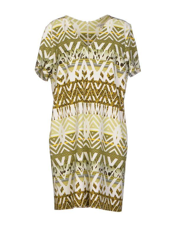 黄色 ETRO 短款连衣裙