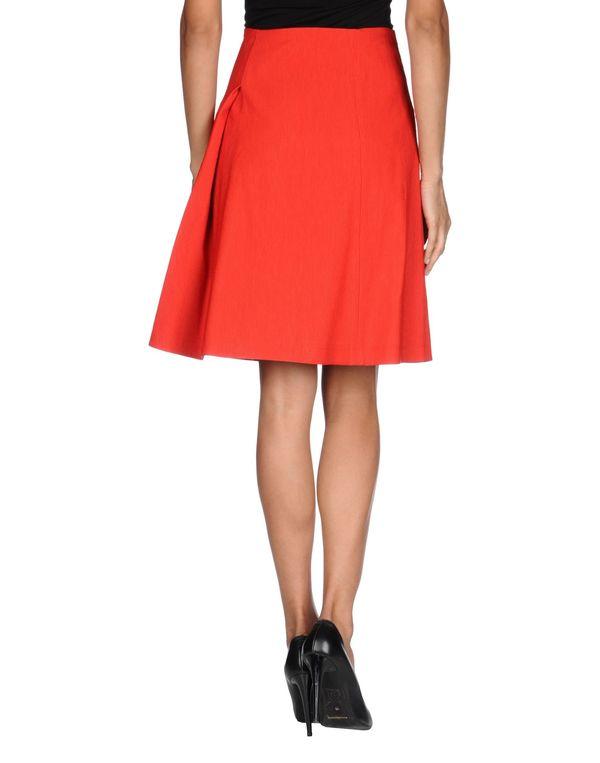 红色 JIL SANDER NAVY 及膝半裙